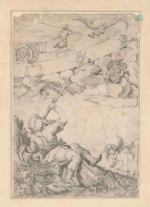 Ulderico Rettala - Astrológ pozorujúci znamenia