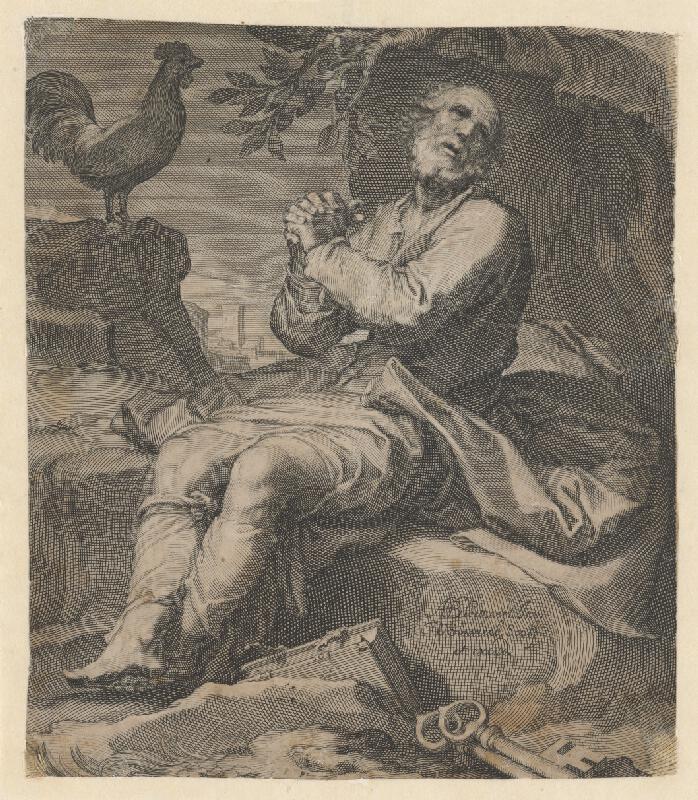 Adam Blomaert, Willem van Swanenburg - Svätý Peter po zapretí Krista
