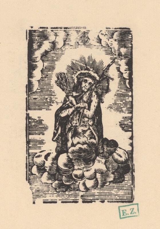 Kopista ilustrácií modlitebných zborníkov Martina von Cochem - Ecce homo