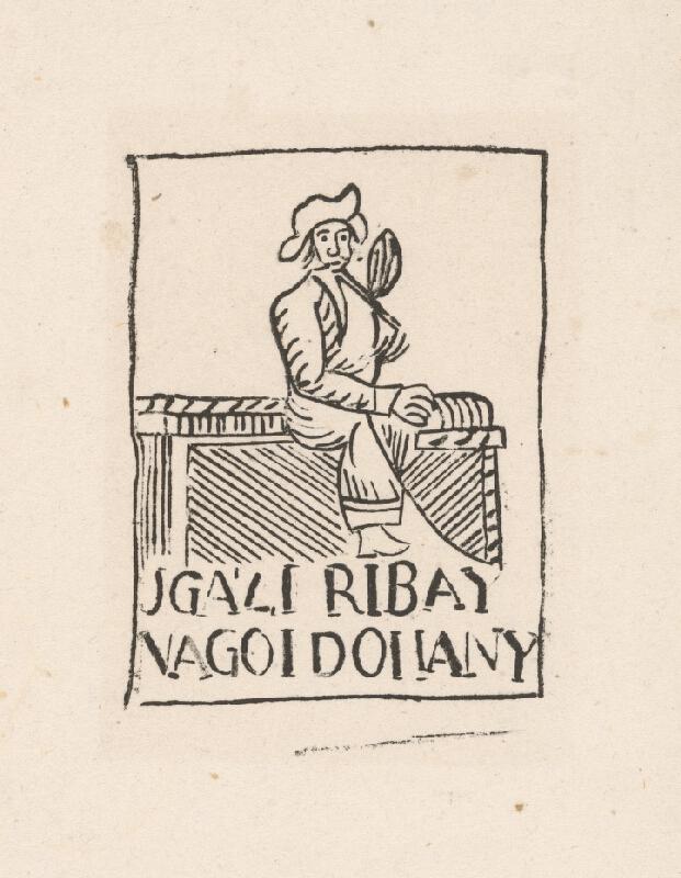 Uhorský grafik z konca 17. a začiatku 18. storočia - Reklama na tabak