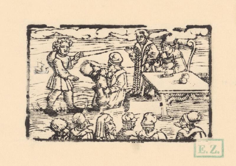 Profesionálny rezač štočkov, Hans Wolff Glaser, Wolfgang Strauch, Hans Weigel - Ako sa Xantus stavil, že vypije more