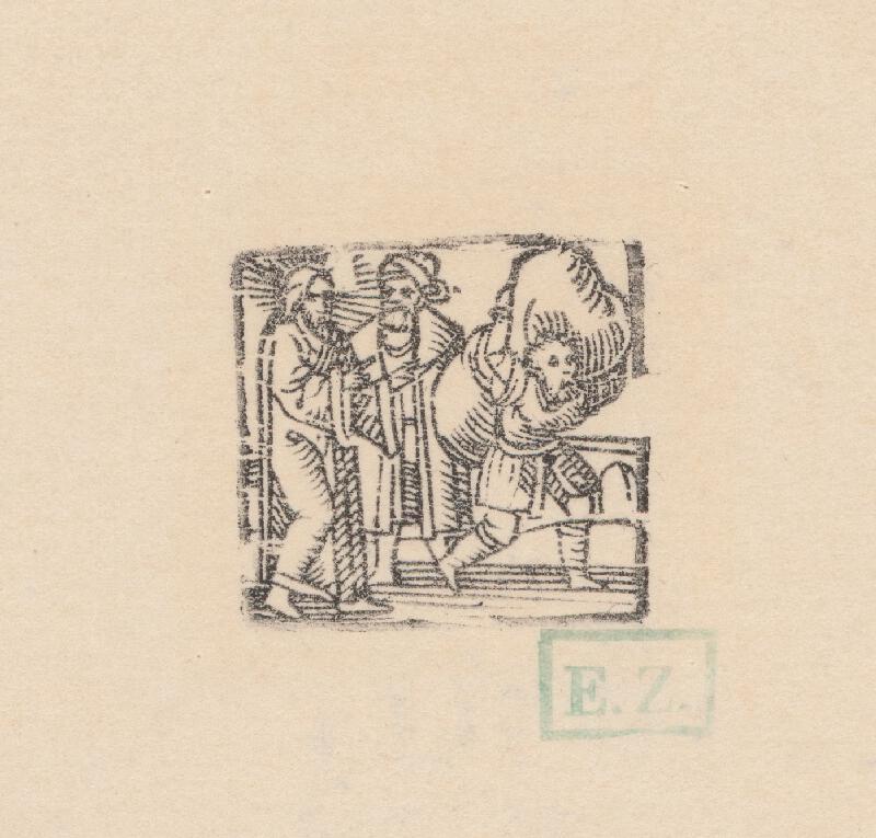 Kopista, Hans Sebald Beham - Uzdravenie chromého