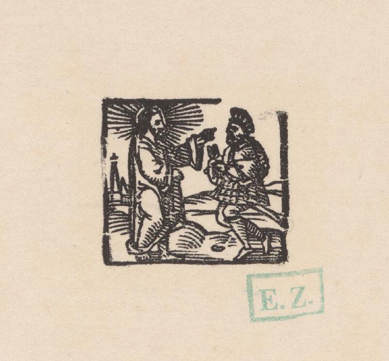 Kopista, Hans Sebald Beham - Kristus a stotník