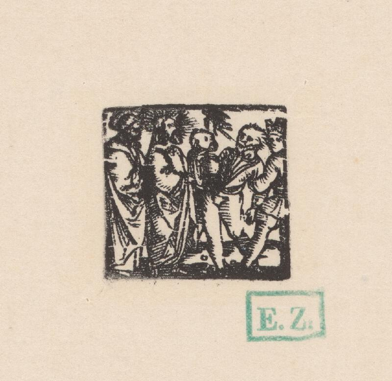 Kopista, Hans Sebald Beham - Uzdravenie posadnutého diablom