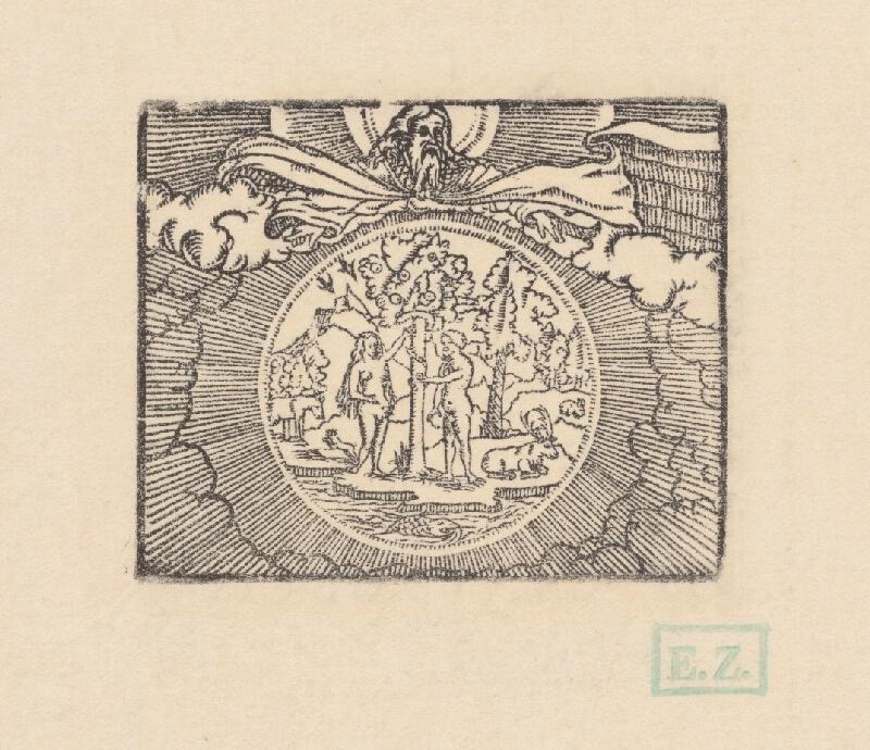 Kopista, Hans Sebald Beham - Stvorenie sveta I.