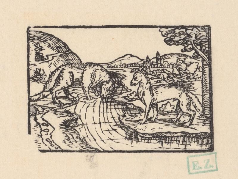 Profesionálny rezač štočkov, Hans Wolff Glaser, Wolfgang Strauch, Hans Weigel - O vlkovi a baranovi