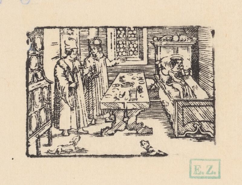 Profesionálny rezač štočkov, Hans Wolff Glaser, Wolfgang Strauch, Hans Weigel - Ako to dopadlo, keď Ezop požiadal Xantovu ženu, aby postrážila jedlo pred psom