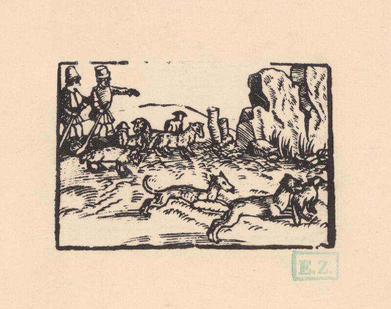 Profesionálny rezač štočkov, Hans Wolff Glaser, Wolfgang Strauch, Hans Weigel - O vlkovi a lačnom psovi