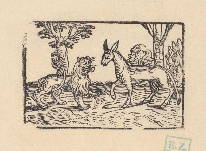 Profesionálny rezač štočkov, Hans Wolff Glaser, Wolfgang Strauch, Hans Weigel - O somárovi a levovi