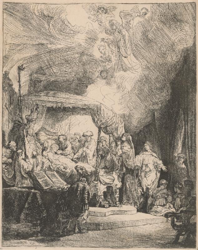 Rembrandt van Rijn - Smrť Panny Márie