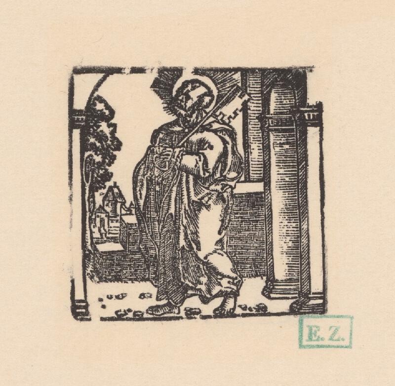 Grafik, Hans Springinklee, Erhard Schön - Svätý Peter apoštol