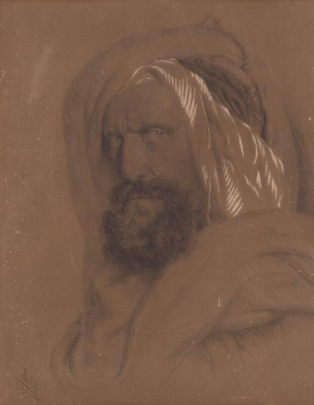 Stredoeurópsky majster - Portrét muža v orientálnom odeve
