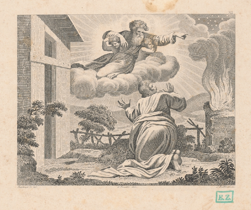 Josef Battmann, Raffael, Wilhelm Kandler - Boh zjavuje sa Mojžišovi