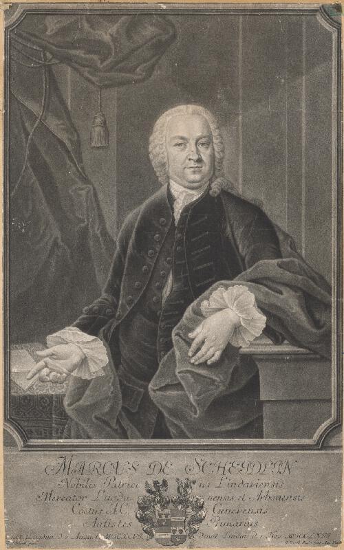 H. Kleinert, Johann Jacob Haid - Portrét Marka de Scheidlina