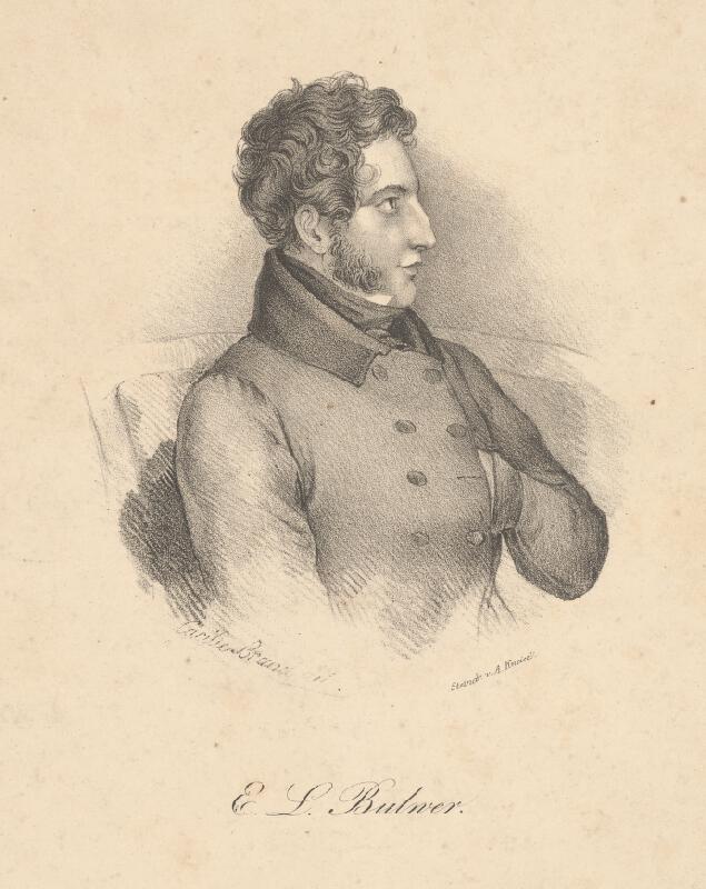 August Kneisel, Cäcilie Brandt - Portrét Eduarda Bulwer-Lyttona