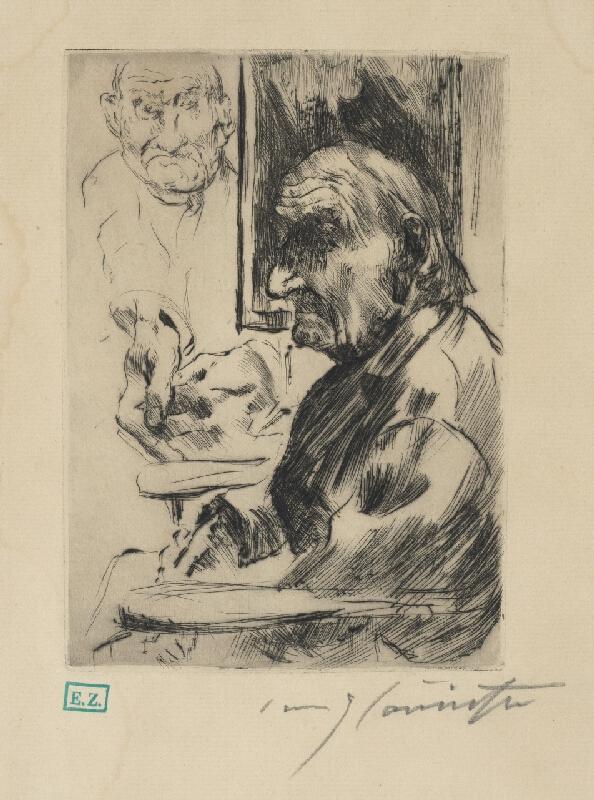 Lovis Corinth - Autoportrét