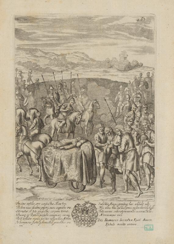Francis Cleyn, Pierre Lombart - Smútok Priama za Hektorom ?