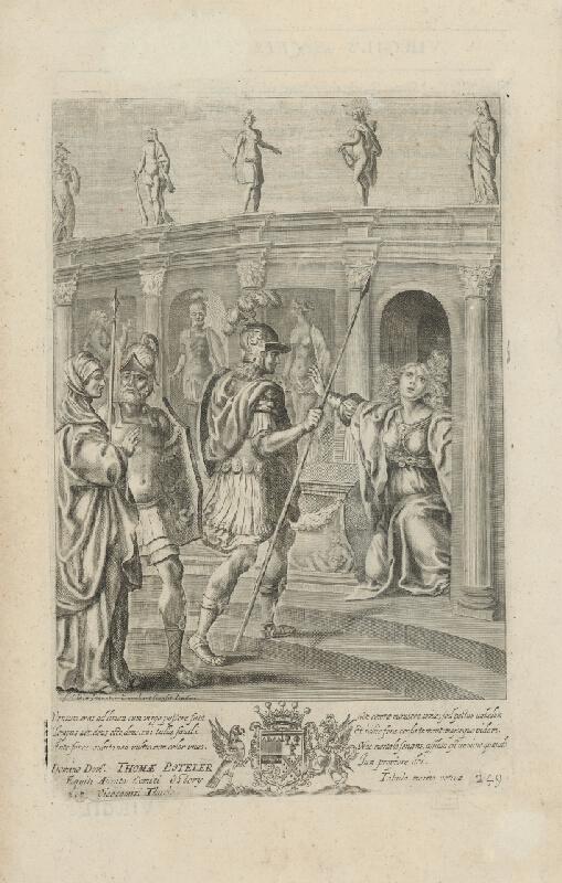 Francis Cleyn, Pierre Lombart - Ilustrácia k Vergiliovej Aeneis