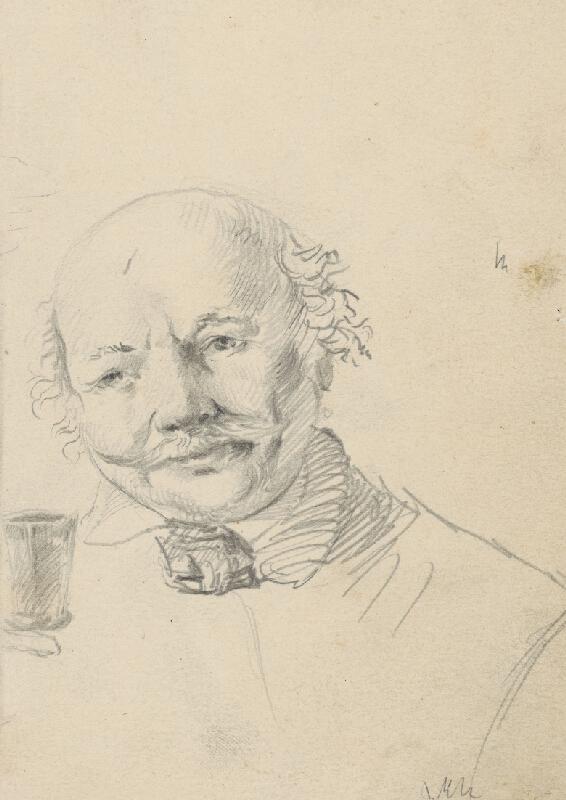 Vojtech Klimkovič - Portrét starého muža