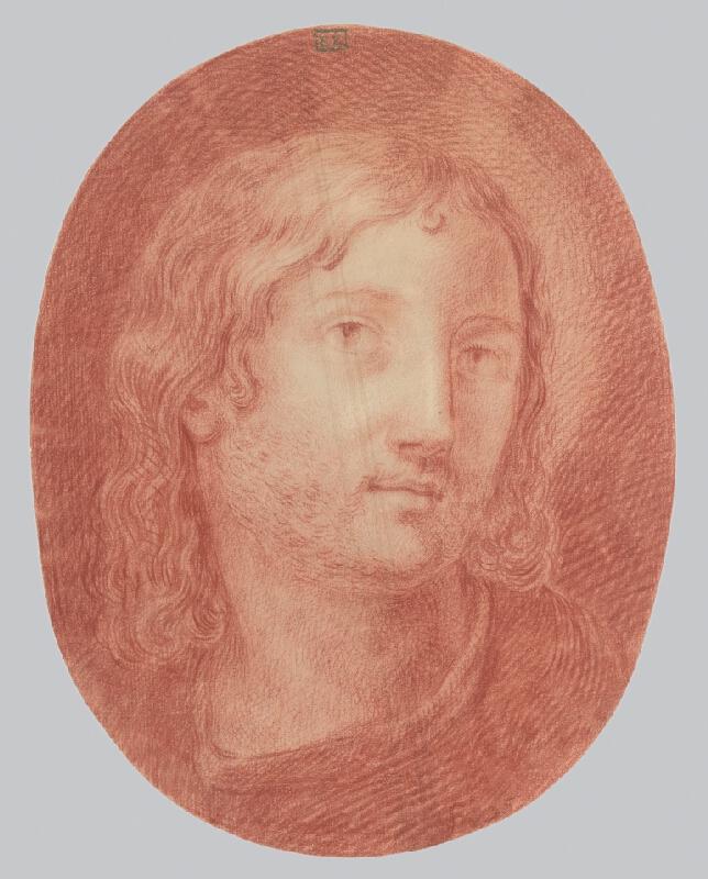 Stredoeurópsky majster z 2. polovice 18. storočia - Hlava svätca