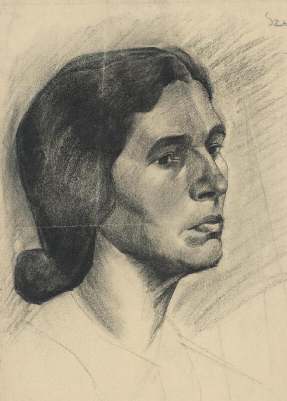 László Szabó - Portrét ženy