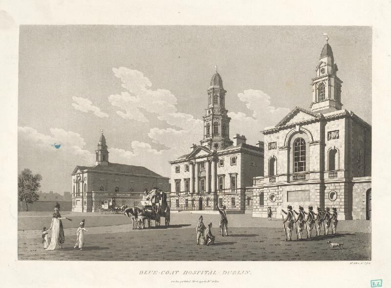 James Malton - Nemocnica Blue-Coat v Dubline