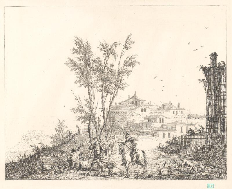 Luigi Rados, Pietro Gonzaga, Gasparo Gallieri - Zbrojnoši pred mestom