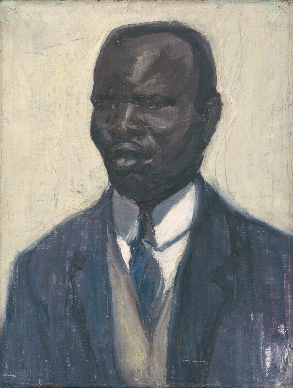 Viktor Hermély - Štúdia černocha