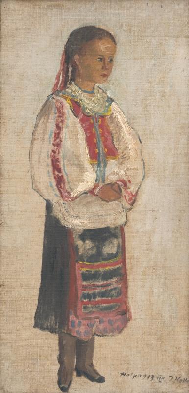 Jozef Kollár - Dievčatko z Heľpy