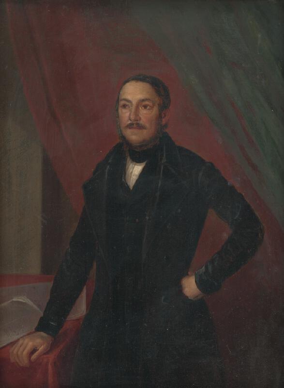 Maďarský maliar - Portrét muža