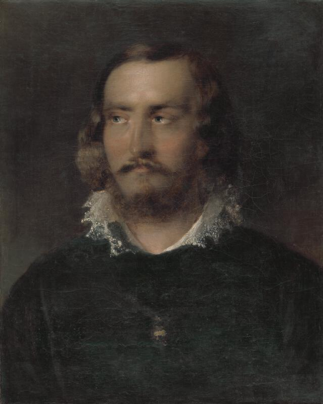 Neznámy maliar - Portrét muža s čipkovaným golierom