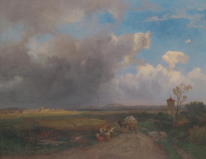 Rudolf Lang - Podunajská krajina