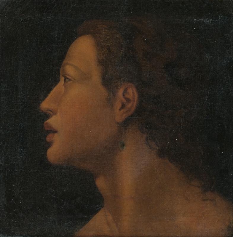Neznámy maliar, Titian - Tri Grácie vyučujú Cupida - detail