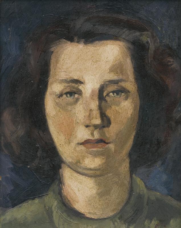 Lajos Luzsicza - Portrét manželky