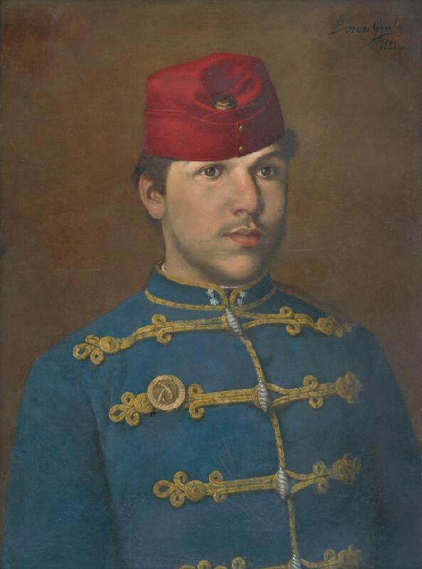Gyula Boross - Portrét vojaka