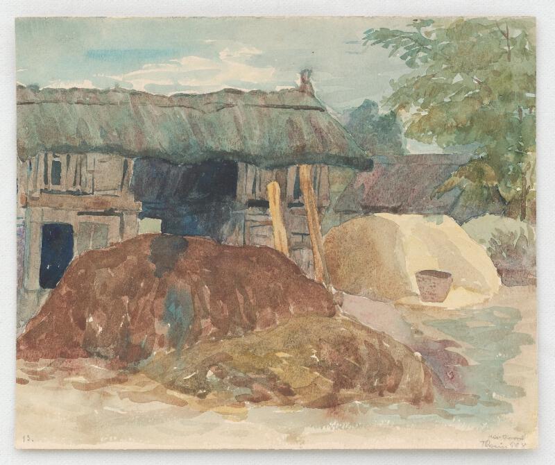 Ján Thain - Chlievy v Kisoroszi