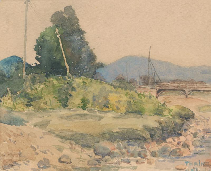 Ján Thain - Na brehu