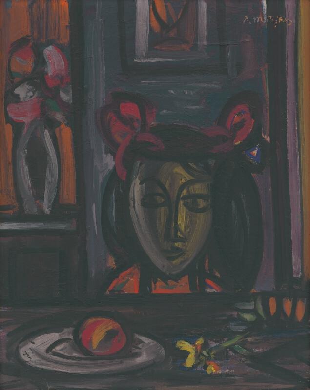 Peter Matejka - Dievča pri stole