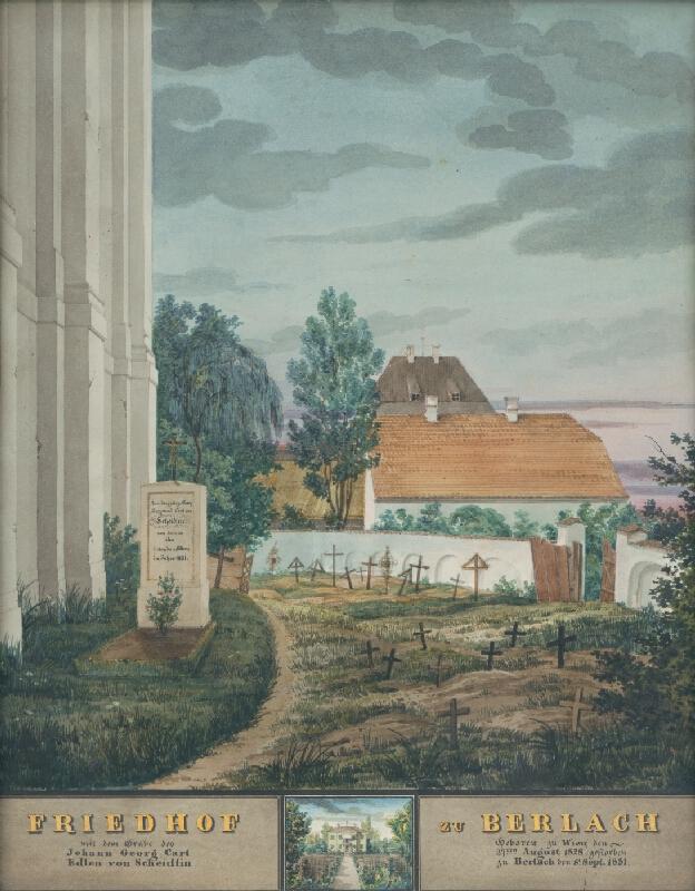 Johann Scheidlin - Cintorín