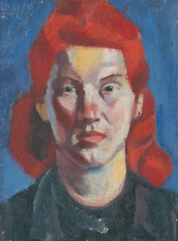 Ernest Zmeták - Dievča s červenými vlasmi