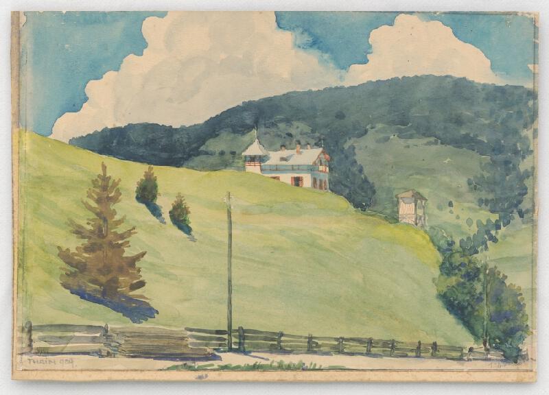 Ján Thain - Vila v horách