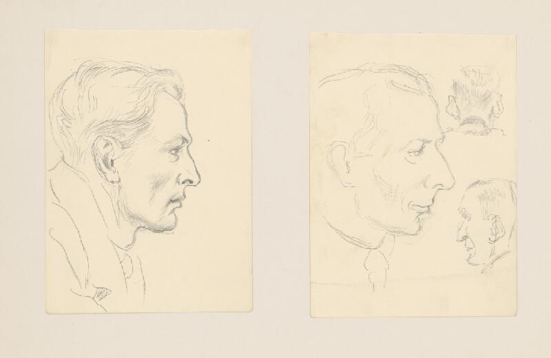 Emil Makovický - Dve portrétne štúdie