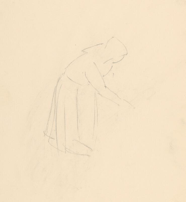 Emil Makovický - Žena s motykou