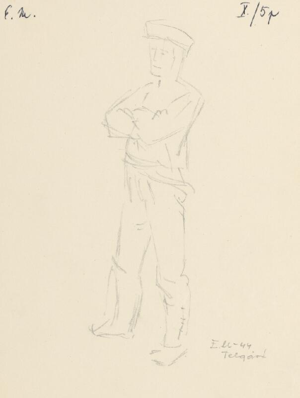 Emil Makovický - Muž so založenými rukami