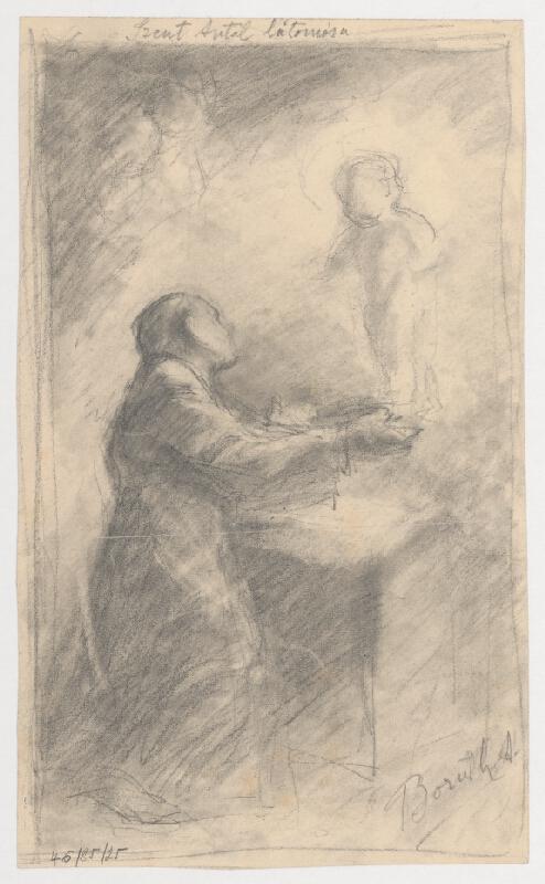 Andor Borúth – Náčrt figurálnej kompozície