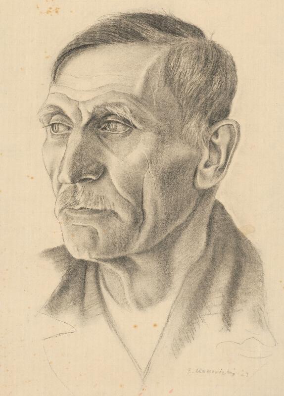 Emil Makovický - Portrét muža