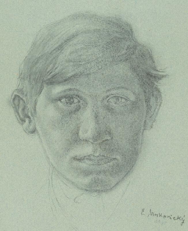 Emil Makovický - Hlava mládenca