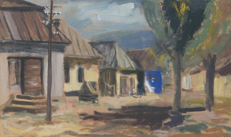 Július Nemčík - Záber z Hrabušíc