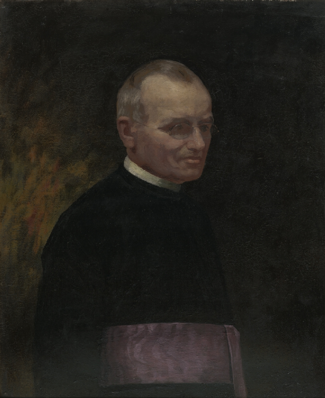 Jozef Hanula - Portrét farára Langa