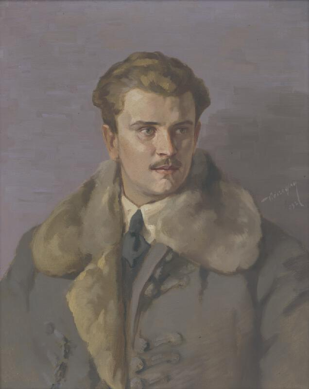Elemír Köszeghy-Winkler - Portrét muža